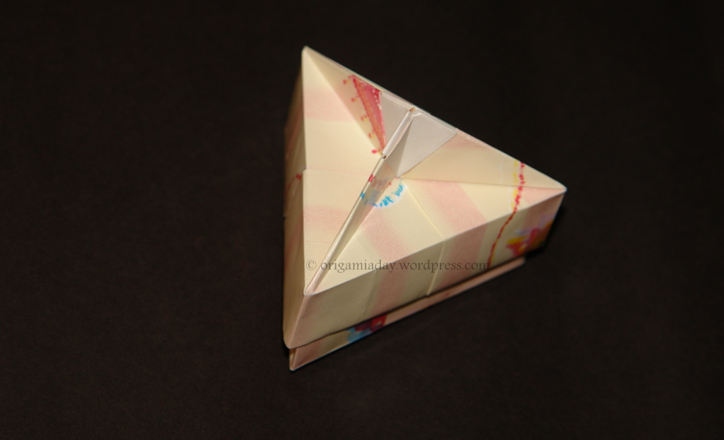 Triangular Origami Box By Tomoko Fuse Diagrams