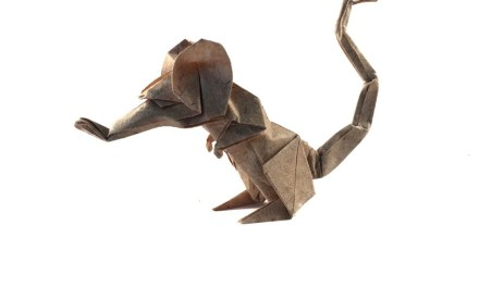 Origami Rat by Eric Joisel