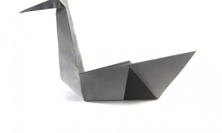 Traditional Origami Swan
