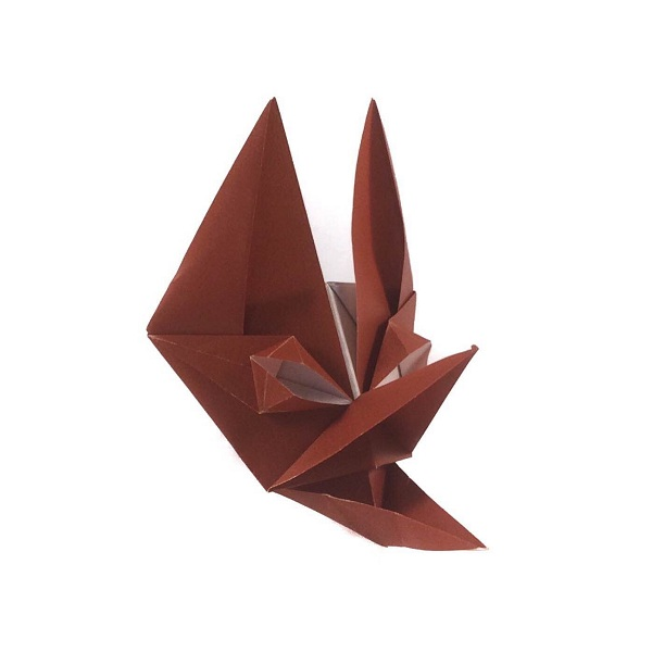 Todays Model For Day 10 Of World Origami Days Is Another Mask An Fox