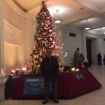 The 2015 OrigamiUSA Holiday Tree