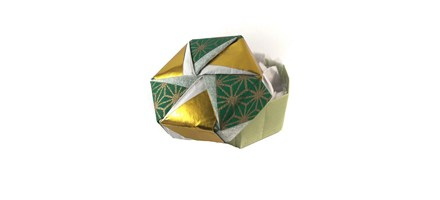 Solve those present-wrapping blues with an origami box