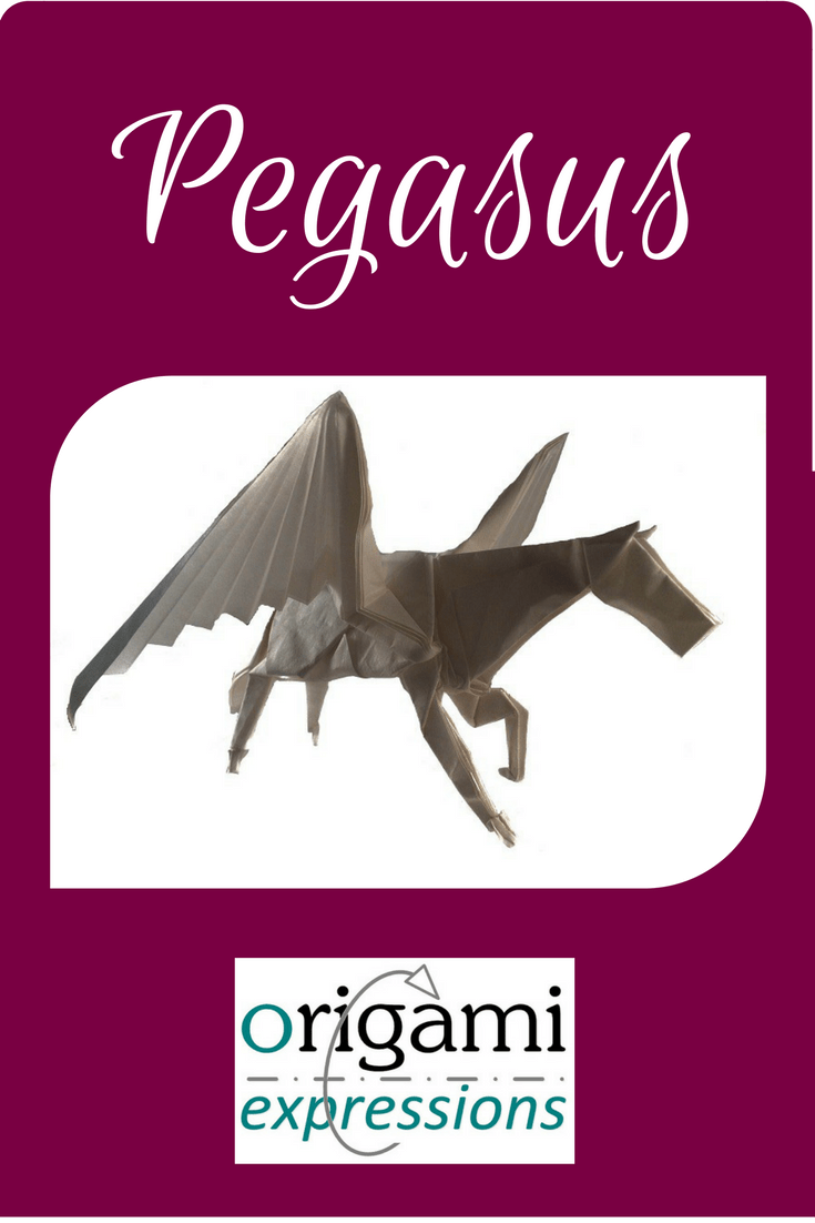 A review of Kamiya's excellent origami Pegasus model includes thoughts on folding, and where to get instructions