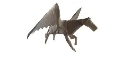 Satoshi Kamiya's Origami Pegasus
