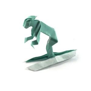 Robert Harbin's Origami Skier