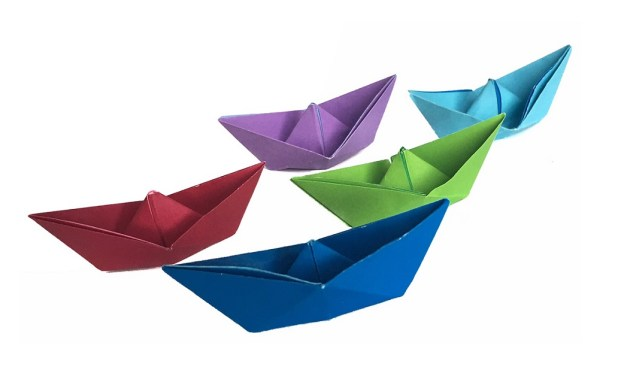 Traditional Origami Boat – with instructions