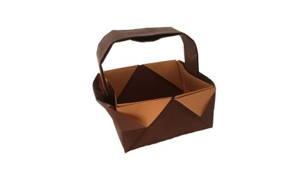 An Origami Basket Case!