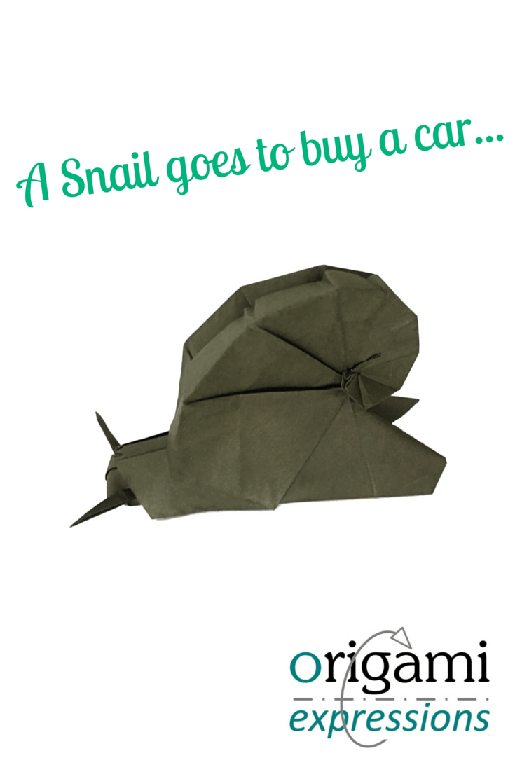 A review of Daniel Shiri's Snail model. Includes what it's like to fold, some recommendations on paper choice, and a link to the instruction video.