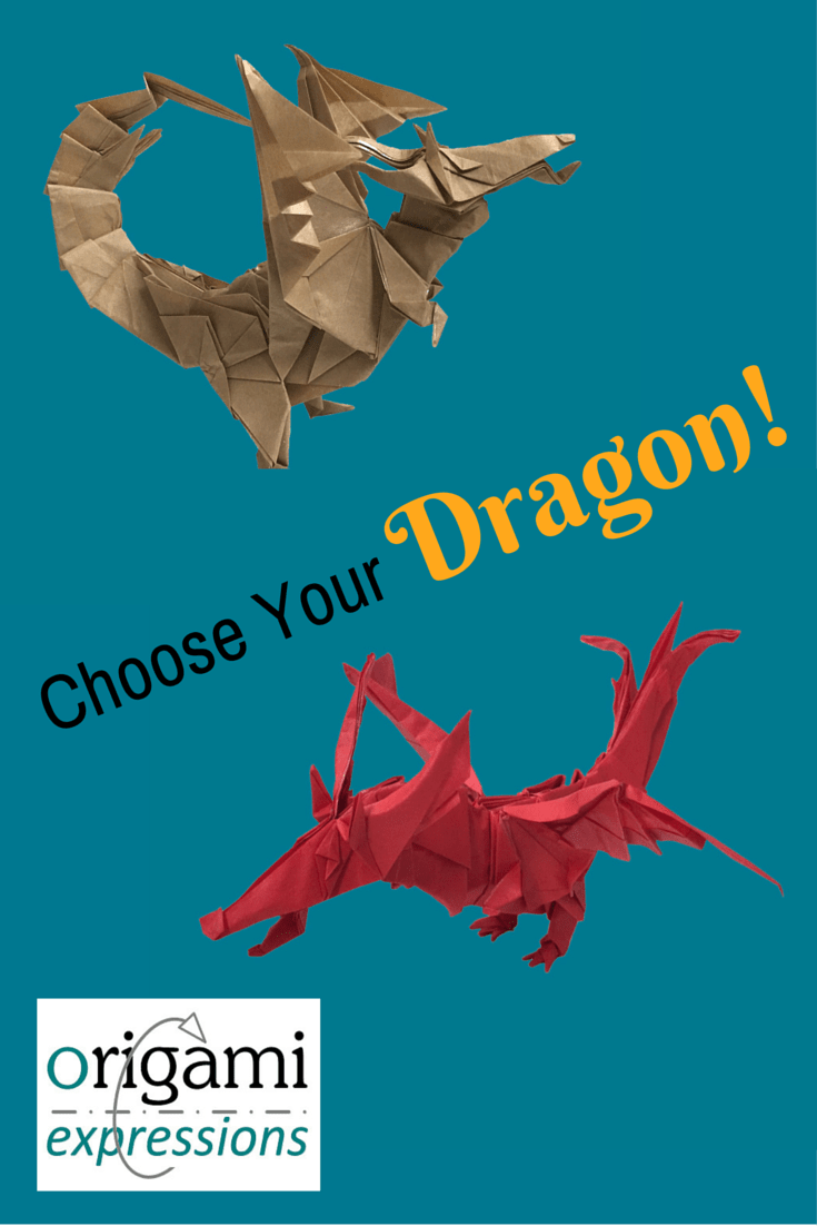 A review of Kade Chan's excellent Fiery Dragon origami designs, versions 1 & 2. Includes thoughts on folding, and links to videos so you can fold one too