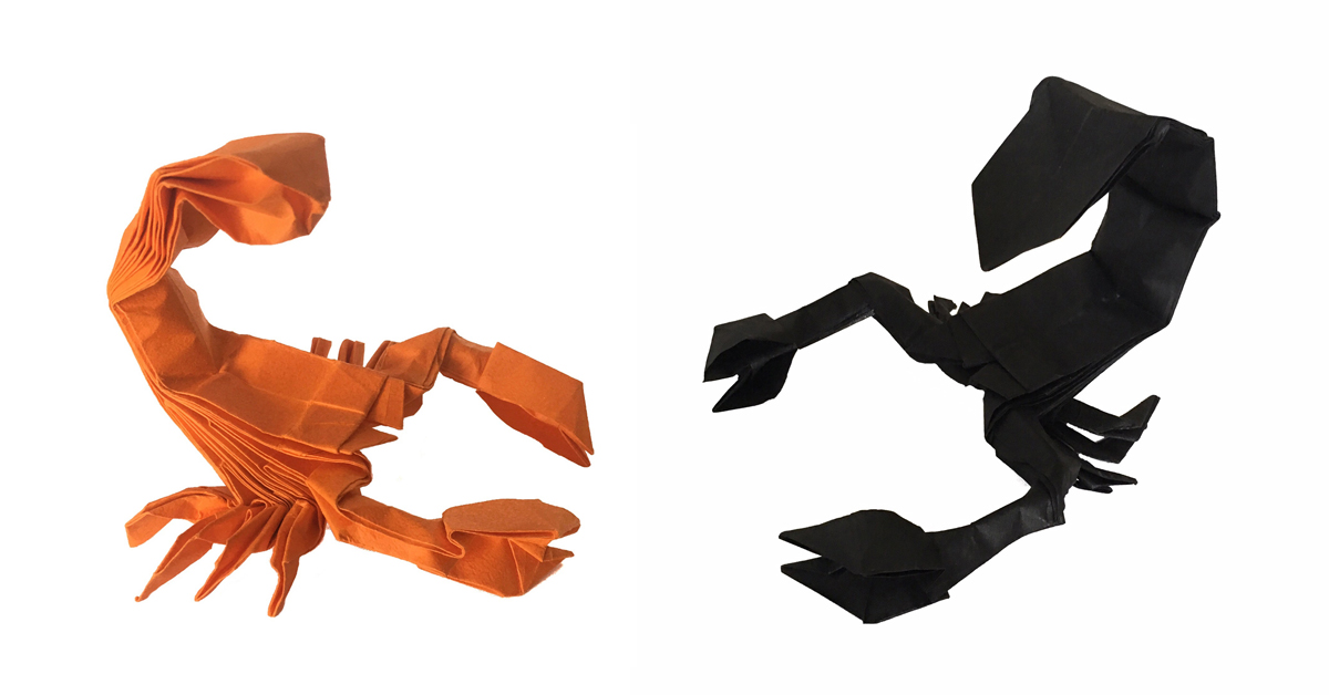 A Paper scorpion doesn't sting