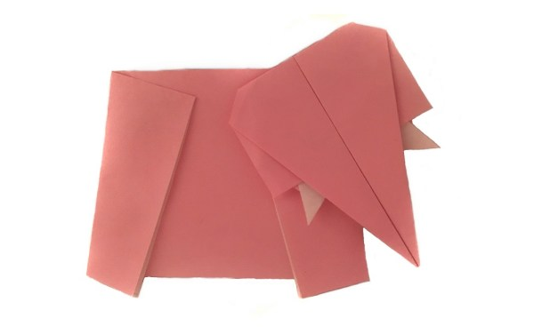 Origami Elephant World Record Attempt