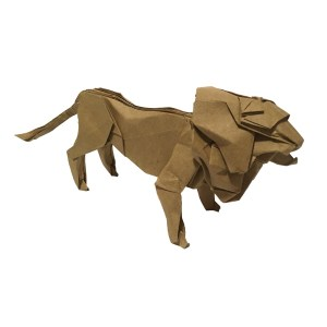 "Seth Friedman's Lion ""The Origami Lion King?"" origamiexpressions.com"