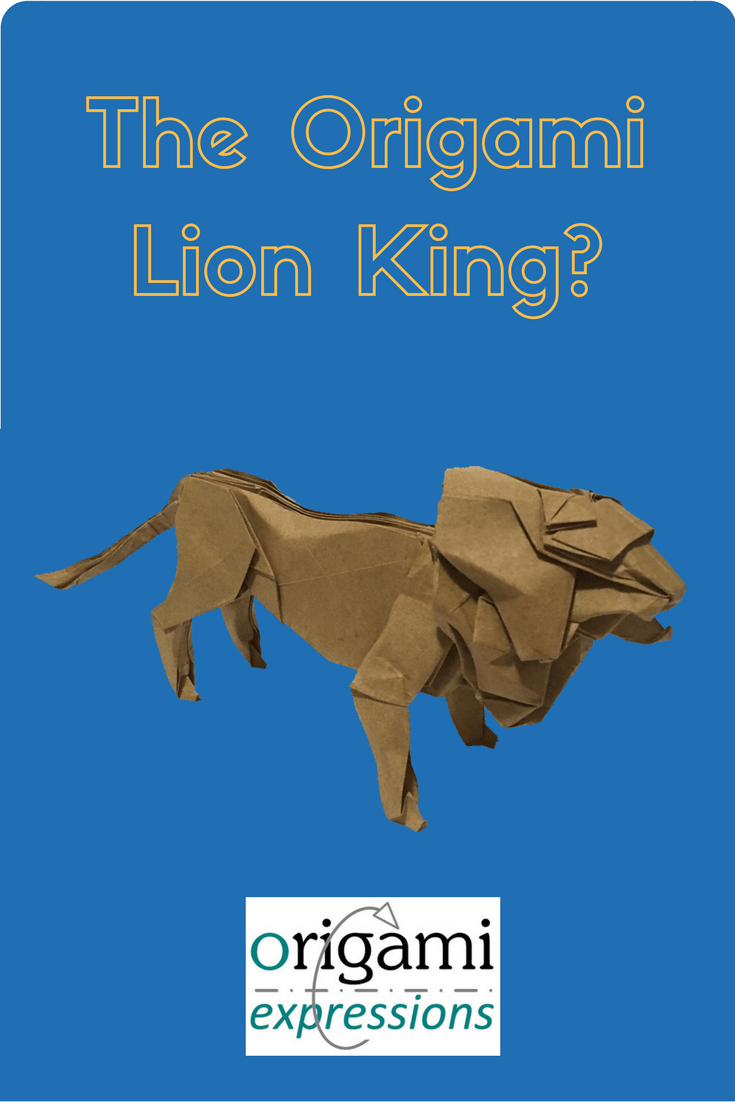 A review of Seth Friedman's origami Lion. Includes what it's like to fold, some paper suggestions and where to find the video tutorial.