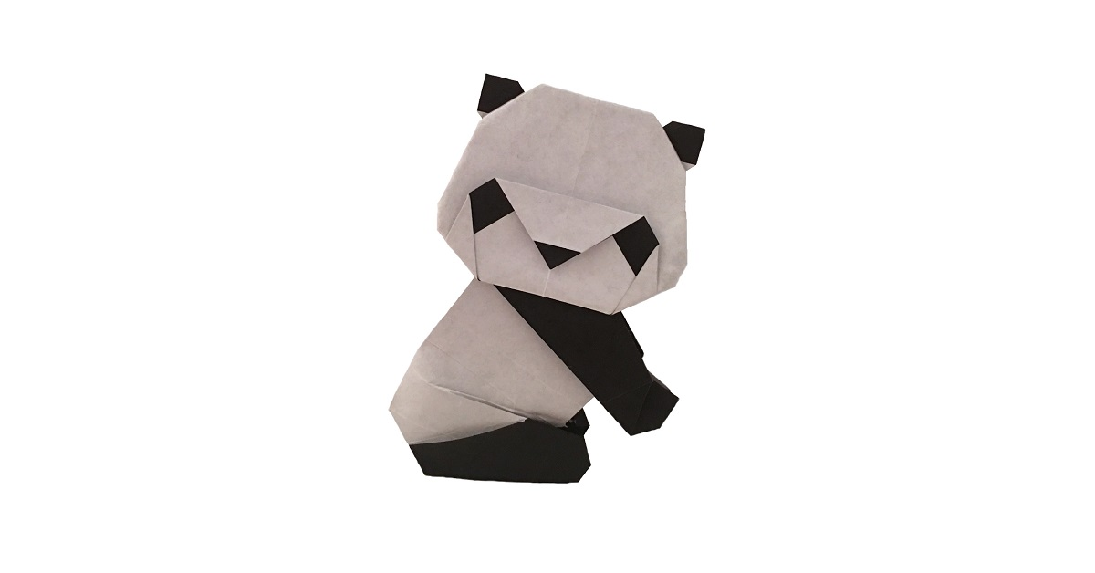 An Origami Panda Is Just As Cute As A Real One Origami Expressions
