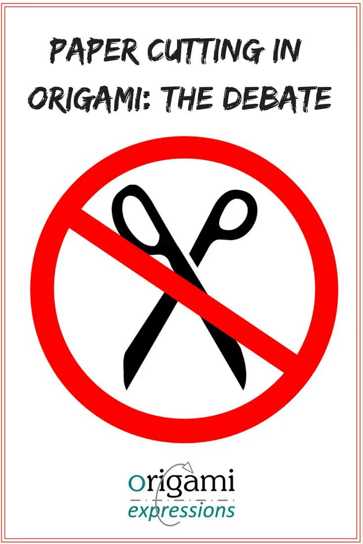 paper cutting in origami the debate origami expressions