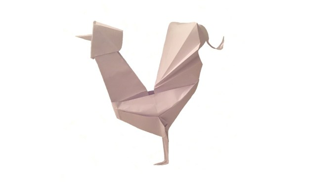 Happy Year of the Origami Rooster!