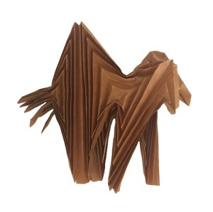 """Folding the Dobsonfly, by Brian Chan """"Origami Dobsonfly"""" origamiexpressions.com"""