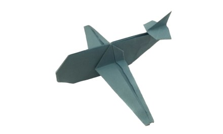 Up, Up, and Away with an Origami Airplane!