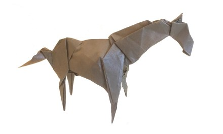 An Origami Horse: A Better Bet than Horse Racing!