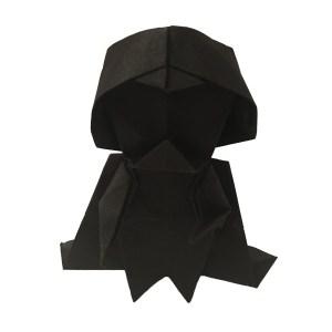 "Tadashi Mori's Origami Darth Vader ""An Origami Darth Vader for Star Wars Day"" origamiexpressions.com"