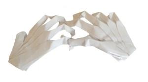 "Jeremy Shafer's Origami Skeleton Hands ""Spooky Origami Skeleton Hands"" origamiexpressions.com"