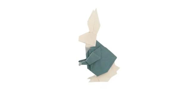 An Origami Rabbit in Wonderland
