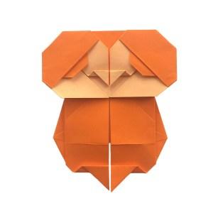 Big Eyed Baby Origami Bird
