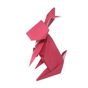 Hideo Komatsu's Origami Rabbit