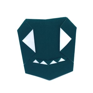 "Mr Origami Ghost by Stephane Gigandet ""Origami for Halloween"" origamiexpressions.com"