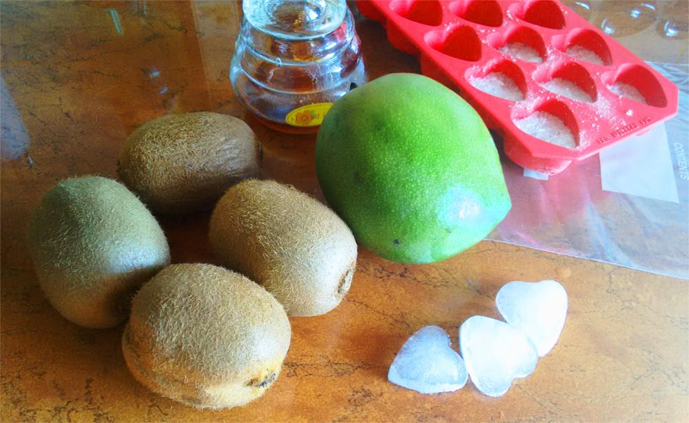 Przepis Sorbet kiwi mango