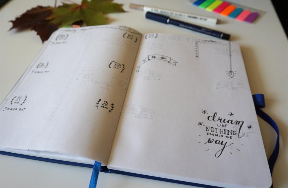 Bullet Journal jak zacząć, jak planować