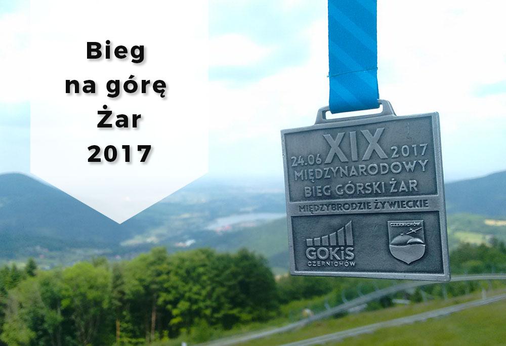 Relacja z biegu na górę Żar 2017