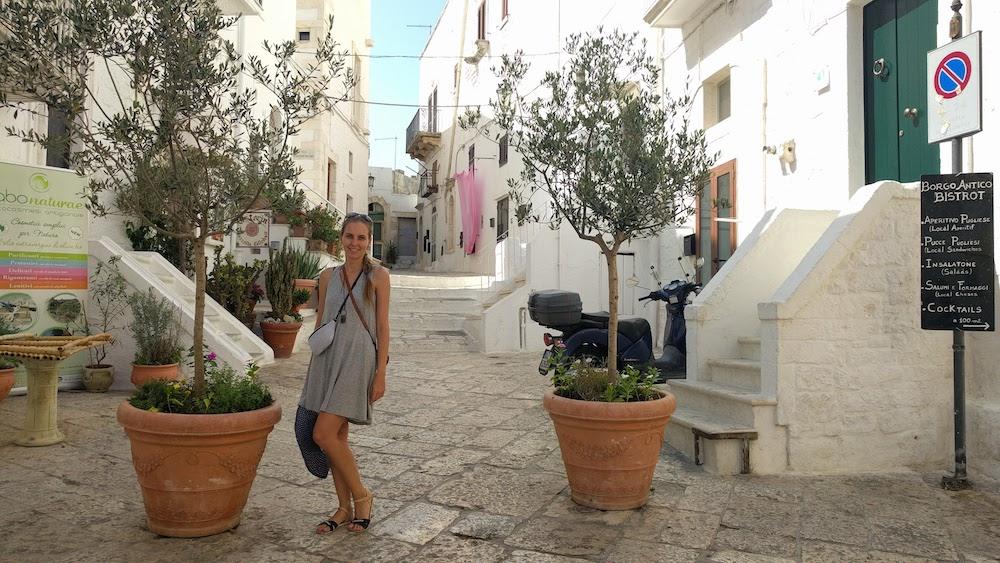 Zwiedzanie Apulii - co warto zobaczyć - Ostuni