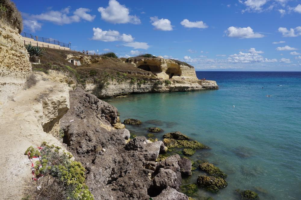 Plaże Apulii - Puglia co zobaczyć Spiaggia di Torre Sant'Andrea