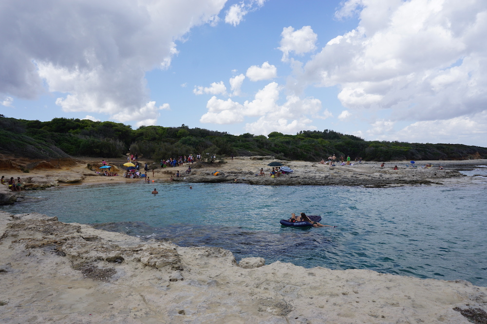 Plaże Apulii - Caletta Toraiello