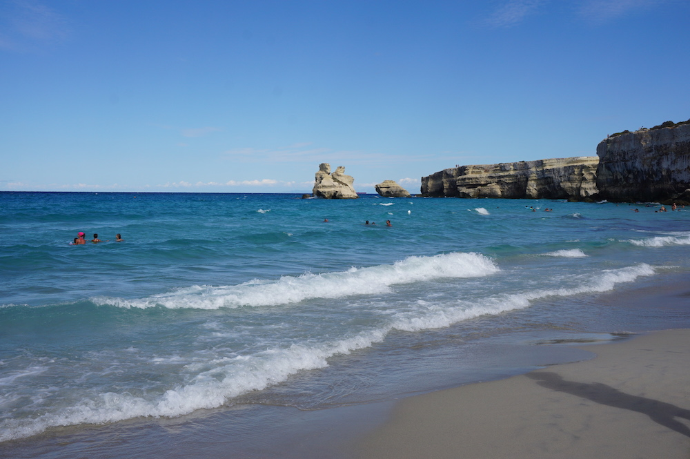 Plaże Apulii - Puglia co zobaczyć - Torre dell'Orso