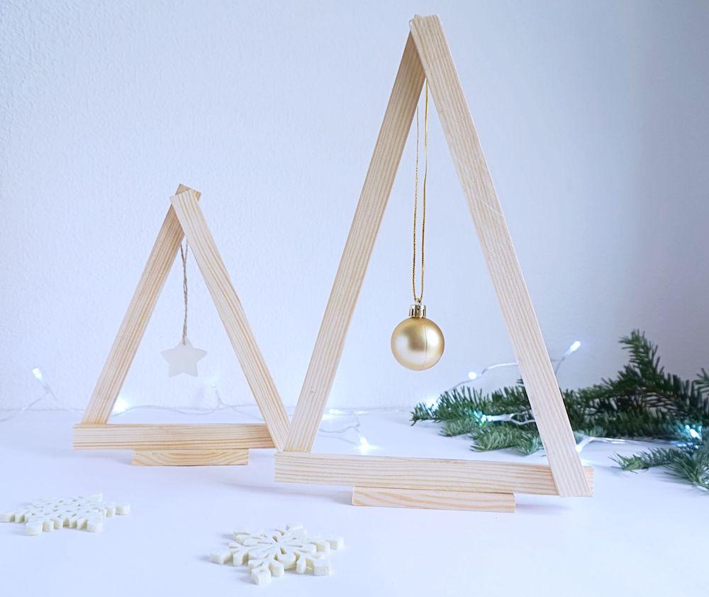 Świąteczne dekoracje - DIY Minimalistyczna choinka