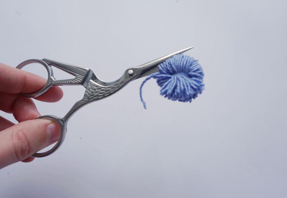 DIY Zrób to sam Kwiaty z pomponów