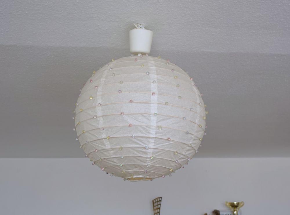 DIY Lampa ombre Ikea hack Regolit metamorfoza papierowego klosza