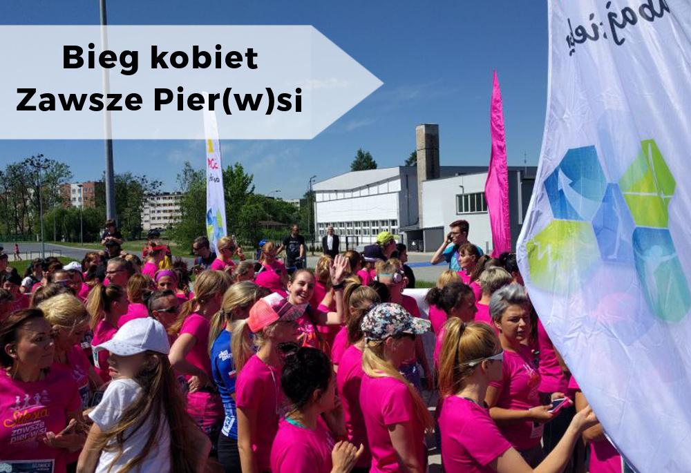 Relacja z biegu kobiet - Zawsze Pierwsi Gliwice