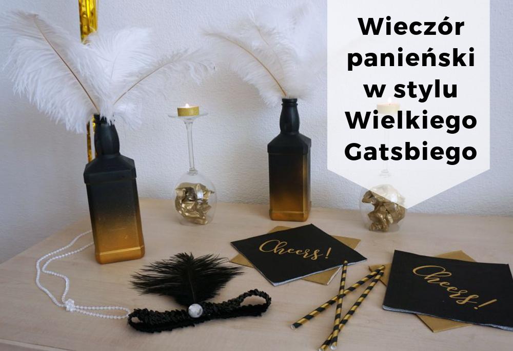 Wieczór panieński w stylu lat 20 - impreza Wielkiego Gatsby'ego