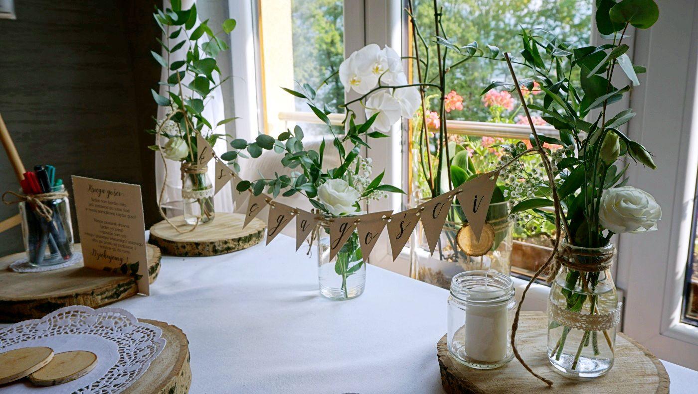 DIY Banery ślubne drukowane w domu