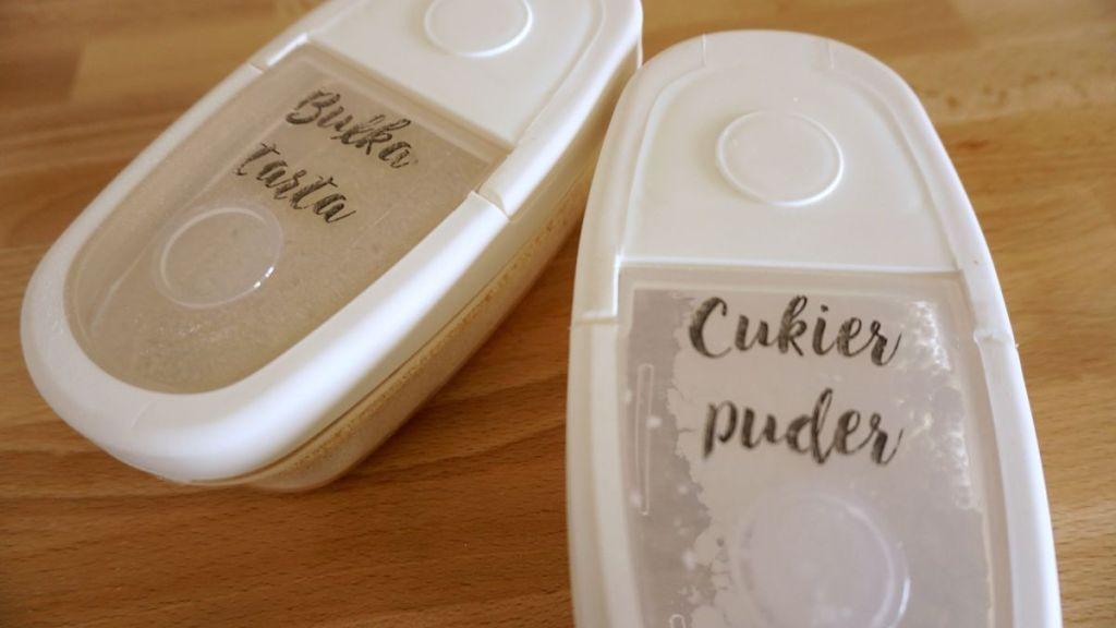 DIY Samoprzylepne etykiety kuchenne