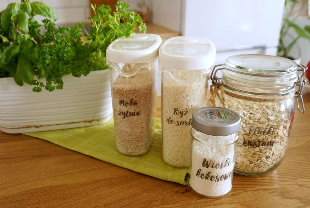 DIY Etykiety kuchenne samoprzylepne