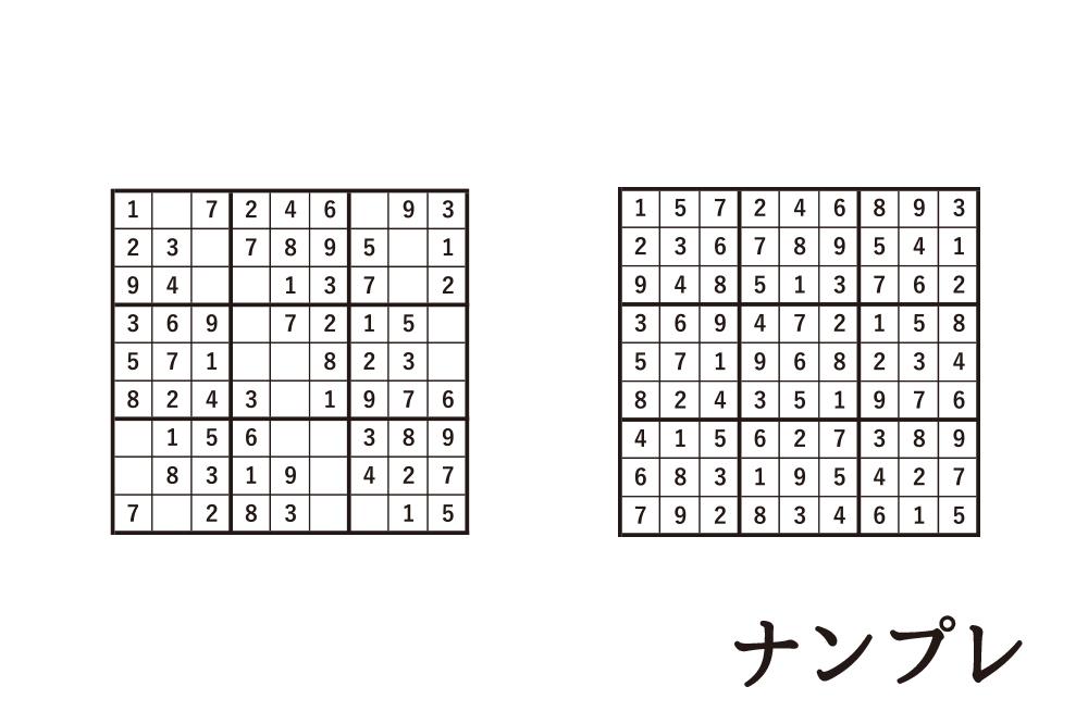 ナンプレ(数独)の無料プリント|キッズのためのパズルゲーム