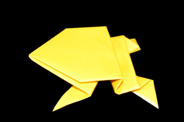 Origami Jumping Frog Instructions And Diagram Easy 17 Steps