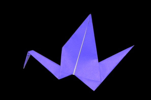 How To Make Moving Bird Easy Origami Instructions 15 Steps