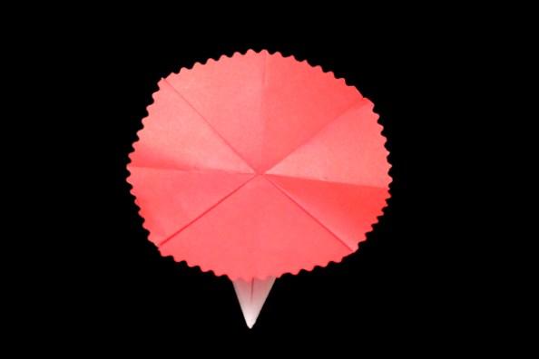 How to make carnation easy origami instructions carnation easy flower origami instructions and diagram mightylinksfo