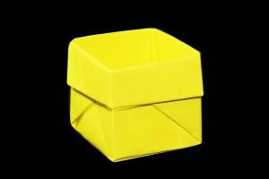 簡単な箱・飾り箱の折り方・作り方 折り紙JAPAN