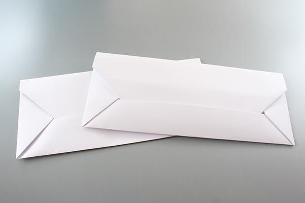 超簡単!1分で作れる!封筒《折り紙》折り方